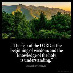 Proverbs 9:10 KJV