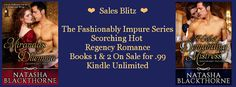 Warrior Woman Winmill: The Fashionably Impure Series by Natasha Blackthorne. Sale Blitz. ONLY 99c. Each. +$25 G.C.Giveaway