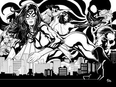 BENDIS!, Spider-woman by Frank Cho