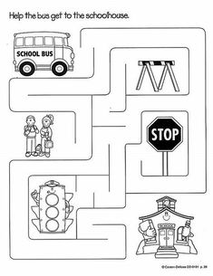 Transportation Worksheets For Preschool Preschool Worksheets, Kindergarten Activities, Educational Activities, Transportation Theme Preschool, Transportation Worksheet, School Bus Safety, Creative Curriculum, English Activities, Kids Education