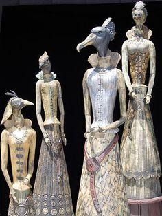 ☥ Figurative Ceramic Sculpture ☥ Maria De Castro