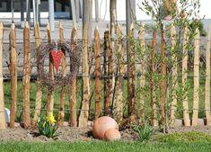 Staketenzaun - Kastanienzaun - Seite 1 - Gartengestaltung - Mein schöner Garten online