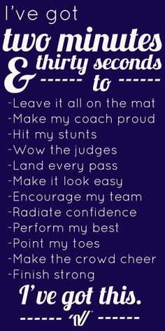 Image result for cheerleading word of wisdom