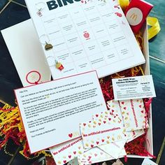 Just wanted to share with you guys the cutest Bingo game that #mcdonalds made for me for while watching the Bachelor finale a couple of weeks ago!! Thank You @mcdonalds this was amazing!!! Can't wait for The Bachelorette LOL #obsessed
