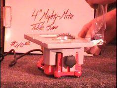 Homemade micro table saw - YouTube