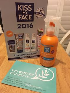 Free Kiss My Face Sun Spray Lotion from Social Nature Kiss My Face, Lotion, Personal Care, Sun, Bottle, Nature, Free, Naturaleza, Personal Hygiene