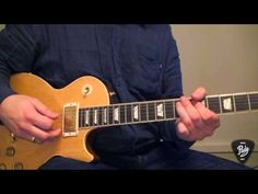 Einfache Blues Gitarren-Licks (Solo Licks 1) - YouTube