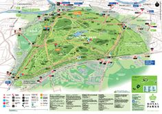A map of Richmond Park, a venue often visited by The Conservation Volunteers (TCV)! Richmond Palace, Richmond London, Richmond Upon Thames, Kingston Upon Thames, Richmond Park, Richmond Hill, Beautiful Places In The World, Wonderful Places, Richmond Green