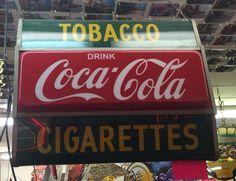 Coke Tobacco Cigarette sign light