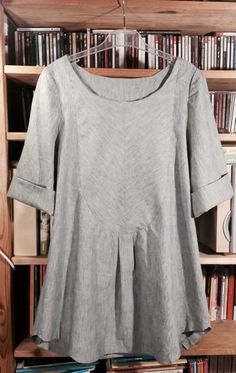 Dress shirt - Merchant and Mills Sewing Basics, Sewing Hacks, Sewing Tips, Sewing Ideas, Sewing Patterns, Merchant And Mills, Big Dresses, Simple Dresses, Frill Tops