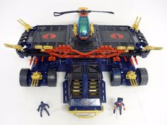 gi joe depth charge   Gi Joe General Cobra Custom Vintage Action Figure Vehicle Complete ...