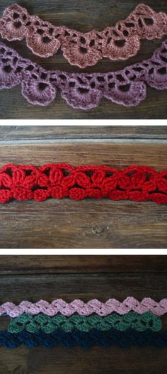 crochet trim http://whipup.net/2011/08/04/shell-crochet-trim/  Great tutorial