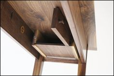 hidden compartment under table