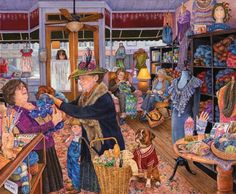 The Yarn Shop Jigsaw Puzzle