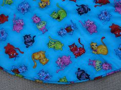 Cat Christmas Tree Skirt Loralie Designs by FallintoChristmas, $69.99