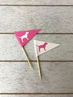 Victoria Secret PINK Inspired Cupcake Toppers