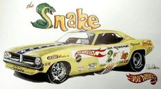 The Snake's Hot Wheels Funny Car