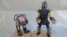 Krang and Shredder