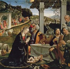 Nativité, Domenico Ghirlandaio