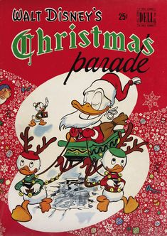 "1949 ""Walt Disney's Christmas parade"" comic book"