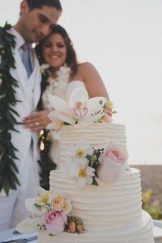 Westin Kaanapali Resort Wedding cake, Dellables.com