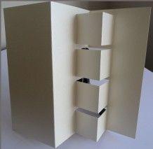 Fancy Tri-Fold Card by Sheila Weaver - Joanna Sheen
