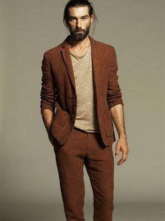 ArtList - Nico . - Adolfo Dominguez SS 2014 - Patrick Petitjean menswear casual style suit