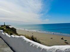 Vista panorámica de las playas de Las Grutas - Fotos de Luis Segretti