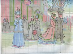 Схема вышивки Изящный век (Dimensions) 3 из 4