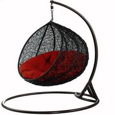 Outdoor swing chair. this would be so pretty even to put in my room!!!