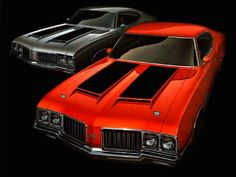1970 OLDSMOBILE CUTLASS W-31 AND 442 W-30 HOLIDAY HARDTOP COUPE