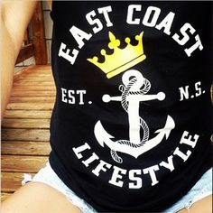 EastCoast Lifestyle Anchor Crown Tank