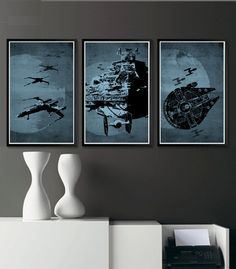Hey, I found this really awesome Etsy listing at https://www.etsy.com/listing/97914137/star-wars-11x17-poster-set