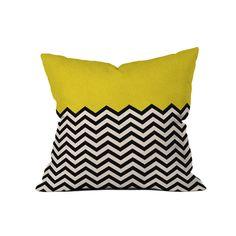 Bianca Green Throw Pillow//