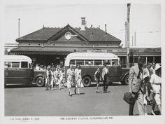 Sandringham Railway Station - Rose Stereograph Co photo