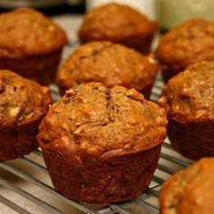 Healthy nana muffins