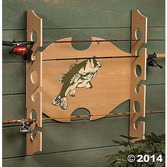 Fishing Rod Holder, Room Decor, Party Decorations, zOLD_Party ...