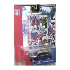 Dallas Cowboys Emmitt Smith 2001 NFL Diecast PT Cruiser with Fleer Ultra Card by White Rose Collectibles   $17.39