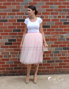 New to CestCaNY on Etsy: CUSTOM SET of 3 Claire Tulle Skirts in Blush Pink (2 small  1 large); shipping on 10/12 (280.00 USD)