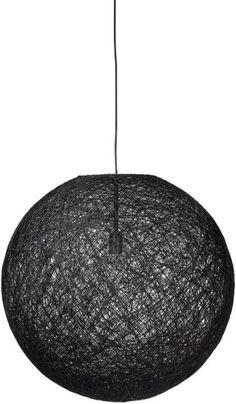 #hanglamp Dreatz - #rond #modern #zwart - #Goossens wonen & slapen