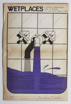 """WET magazine     """"Leonard Koren created Wet in conjunction with some of the artwork he was making at the time, which he called """"bath art"""". 34 issues of Wet were published between 1976-1981, encapsulating the post-modern vibe of late 70s/early 80s Los Angeles"""""""