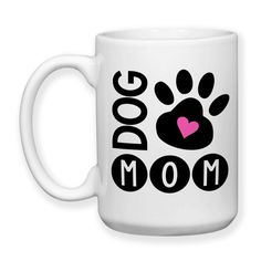 Dog Mom, I Love My Dog, Dog Owner, Dog Lover, Dog Paw Print, Dog Life, Dog Gifts, Dog Mug, 15 oz, Coffee Mug, Tea Mug, Cocoa Mug, Dishwasher Safe / Microwave Safe    ★★★★★★★★★★★★★★★★★★★★★★★★★★★★★★★★★★★★★★★★★★★    This mug design is professionally created and inked in FL. USA.    Each item is made after receiving an order, and due to the hand made and custom designed nature the items can vary slightly from the picture shown. Monitors may display colors differently than real life.    The…