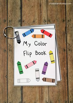 We love flip books at our house and they make learning fun! Are you looking for ways to teach colors to kids? Using a flip book is an awesome way to do this. I created this free printable to help m…