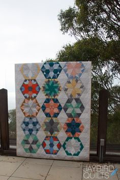 Park Bench - Block of the Month | Jaybird Quilts