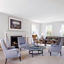 Mark Cunningham Inc. - Living Room design, New York
