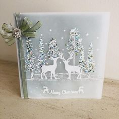 Stamps by Chloe - Winter Woodland - - Christmas Stamps by Chloe - Chloes Creative Cards Die Cut Christmas Cards, Creative Christmas Cards, Beautiful Christmas Cards, Christmas Paper Crafts, Christmas Makes, Xmas Cards, Christmas Ideas, Christmas Houses, Nordic Christmas
