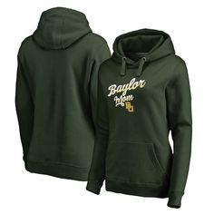 Baylor Bears Fanatics Branded Women's Team Mom Pullover Hoodie - Green