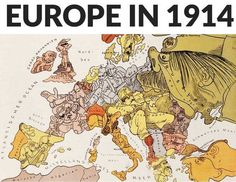 By 1914 Europe was divided by two major Alliance systems: The Triple Alliance between Germany Austria Hungary and Italy and the Triple Entente between France Russia and Great Britain.