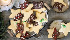 Galletas de mantequilla a los tres chocolates Chocolate Nestle, Tres Chocolates, Cupcake Cakes, Cupcakes, Gingerbread Cookies, Food And Drink, Keto, Pasta, Sugar