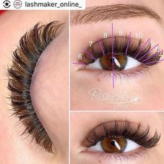 Read more about eye makeup hacks Applying False Eyelashes, Applying Eye Makeup, False Lashes, Big Lashes, Eyebrow Makeup, Eyelash Extensions Salons, Lashes Logo, Lash Room, Eyelash Sets